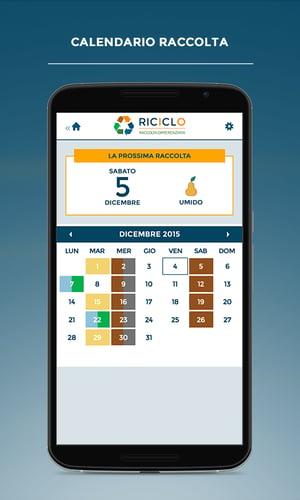 app riciclo calendario raccolta