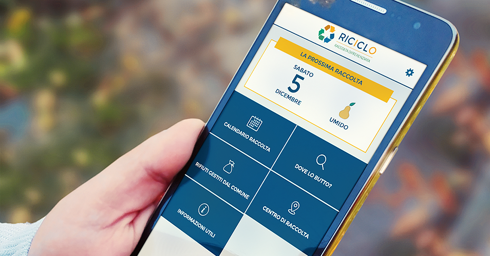 app riciclo per smartphone